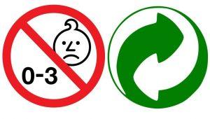Age warning and environment