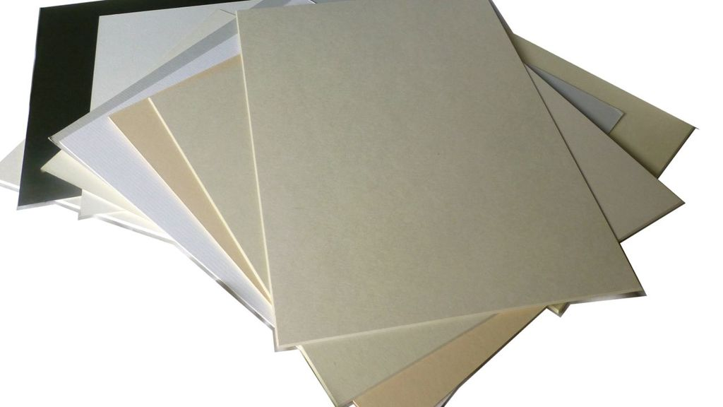 Mountboard offcuts
