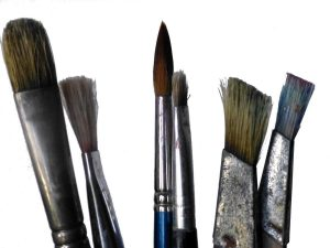 art supplies - brushes