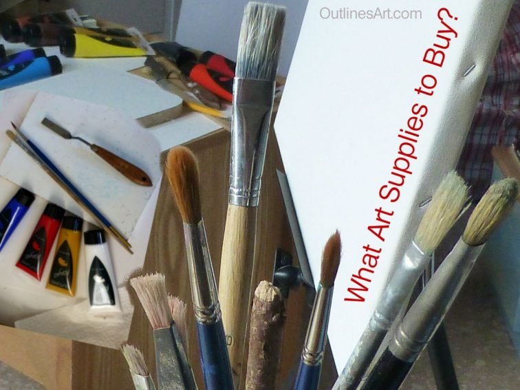 art -supplies-what to buy