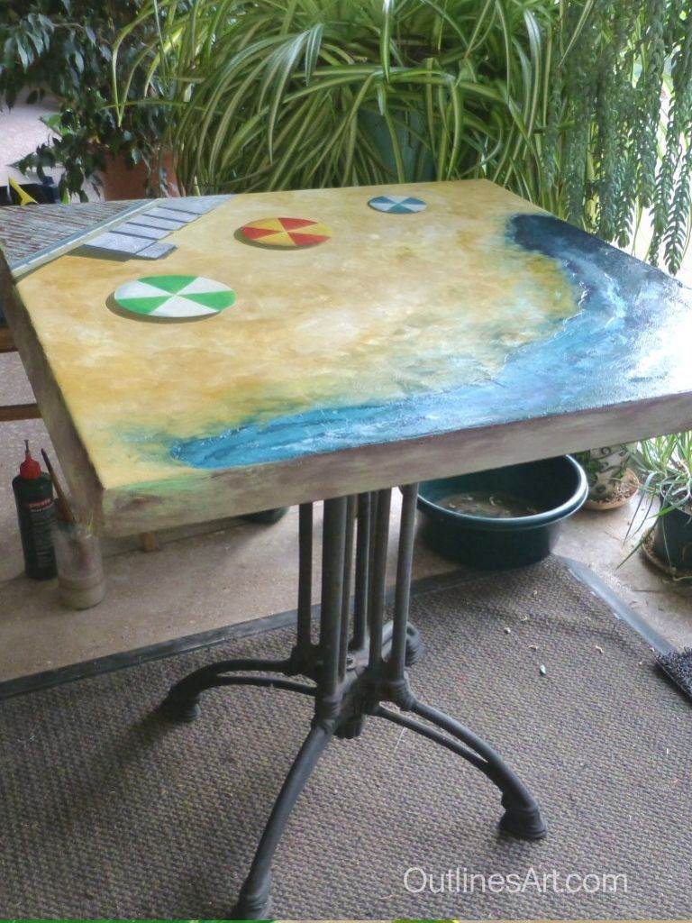 Revived Garden Table