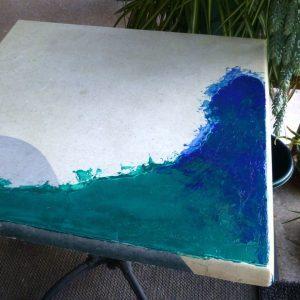 Green Blue Corner