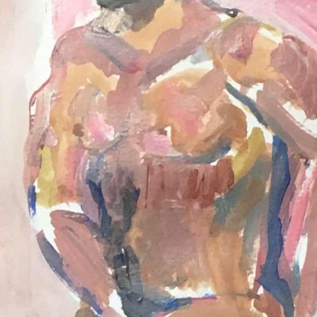Detail of torso
