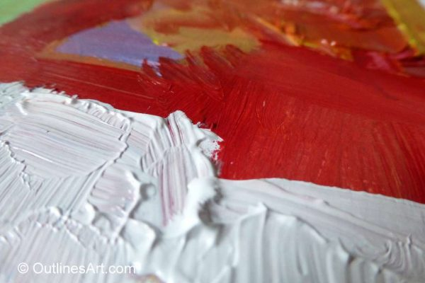Acrylic texture with no additive 2