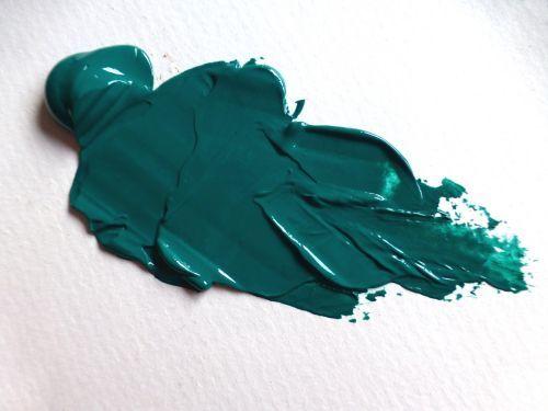 Viridian Acrylic paint